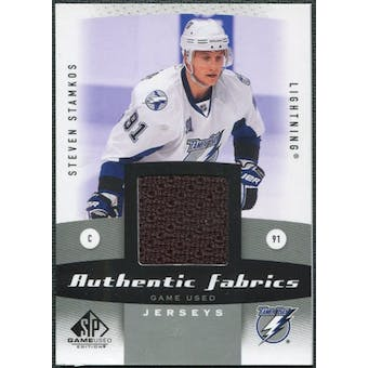 2010/11 Upper Deck SP Game Used Authentic Fabrics #AFSS Steven Stamkos
