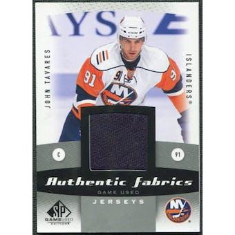 2010/11 Upper Deck SP Game Used Authentic Fabrics #AFTA John Tavares