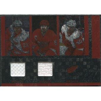 2010/11 Panini Zenith Mozaics Materials Double #8 Tomas Tatar Henrik Zetterberg Nicklas Lidstrom