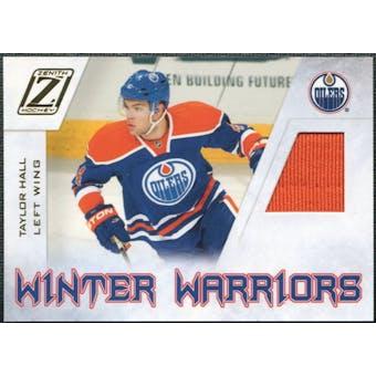 2010/11 Panini Zenith Winter Warriors Materials #TH Taylor Hall
