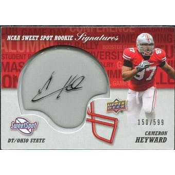 2011 Upper Deck Sweet Spot Rookie Signatures #RSCH Cameron Heyward Autograph /599