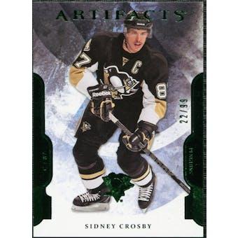 2011/12 Upper Deck Artifacts Emerald #87 Sidney Crosby 22/99