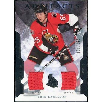2011/12 Upper Deck Artifacts Jerseys #65 Erik Karlsson /125