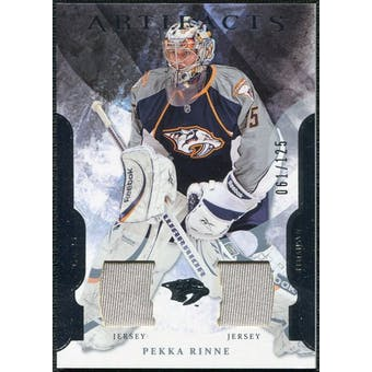 2011/12 Upper Deck Artifacts Jerseys #98 Pekka Rinne /125