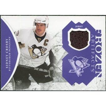 2011/12 Upper Deck Artifacts Frozen Artifacts Jerseys Purple #FASC Sidney Crosby