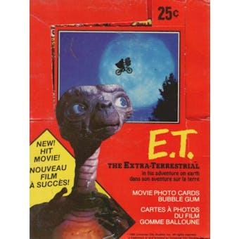 E.T. Wax Box (1982 O-Pee-Chee)