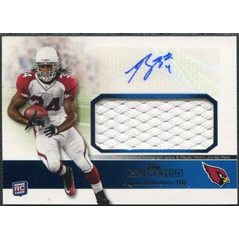 2011 Topps Precision Rookie Jumbo Relic Autographs #RAJRRW Ryan Williams