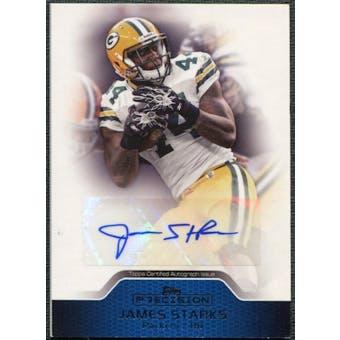 2011 Topps Precision Autographs #PCVAJS James Starks Autograph