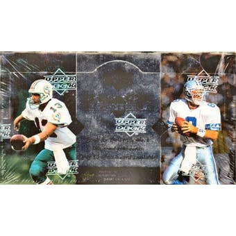 1997 Upper Deck Black Diamond Football Hobby Box
