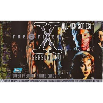 X-Files Series 2 Hobby Box (1996 Topps) (Reed Buy)