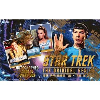 Star Trek: The Original Series Season 2 Hobby Box (1998 Skybox)