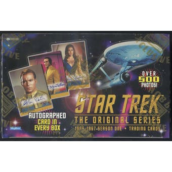 Star Trek: The Original Series Season 1 Hobby Box (1997 Skybox)
