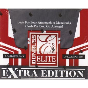 2007 Donruss Elite Extra Edition Baseball Hobby Box