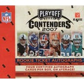 2007 Playoff Contenders Football Hobby Box (Reed Buy)