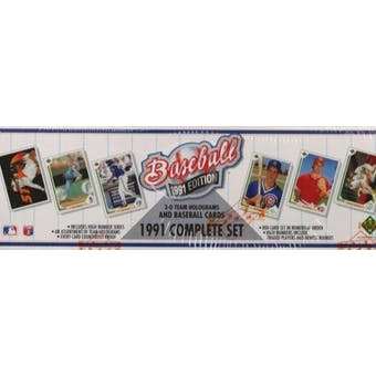 1991 Upper Deck Baseball Factory Set (Reed Buy)