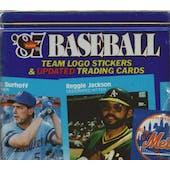 1987 Fleer Update Glossy Baseball Factory Set