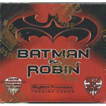 Batman and Robin Hobby Box (1997 Skybox Premium)