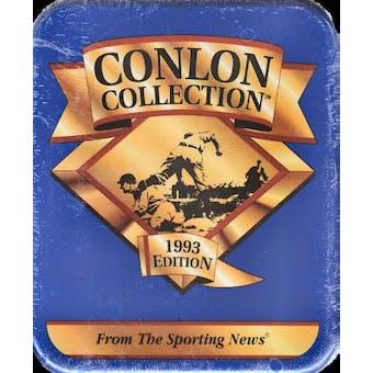1993 Conlon Collection Baseball Tin Box