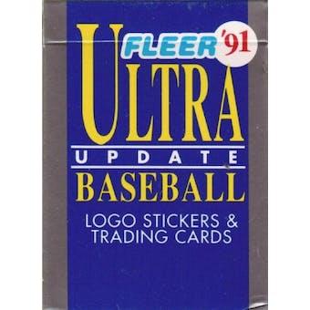 1991 Fleer Ultra Update Baseball Factory Set