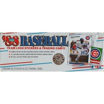1988 Fleer Glossy Baseball Factory Set