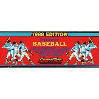 1989 Sportflics Baseball Factory Set