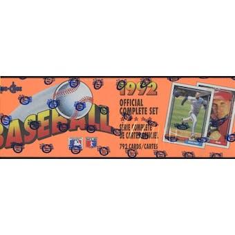 1992 O-Pee-Chee Baseball Factory Set