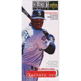 1998 Upper Deck Collector's Choice Baseball Factory Set