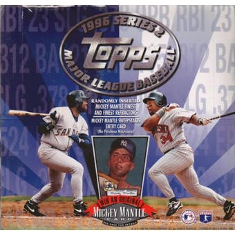1996 Topps Series 2 Baseball Cello Box