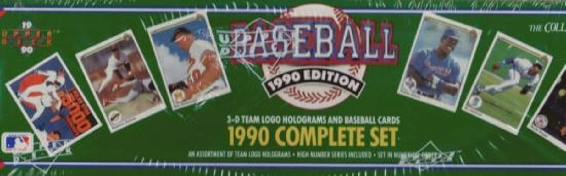1990 Upper Deck Baseball Factory Set Da Card World