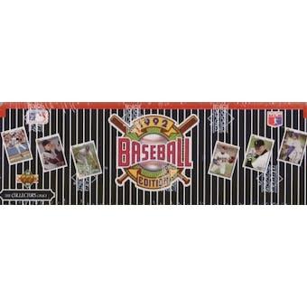 1992 Upper Deck Baseball Factory Set