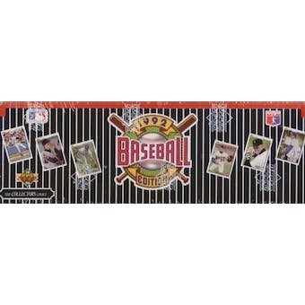 1992 Upper Deck Baseball Factory Set