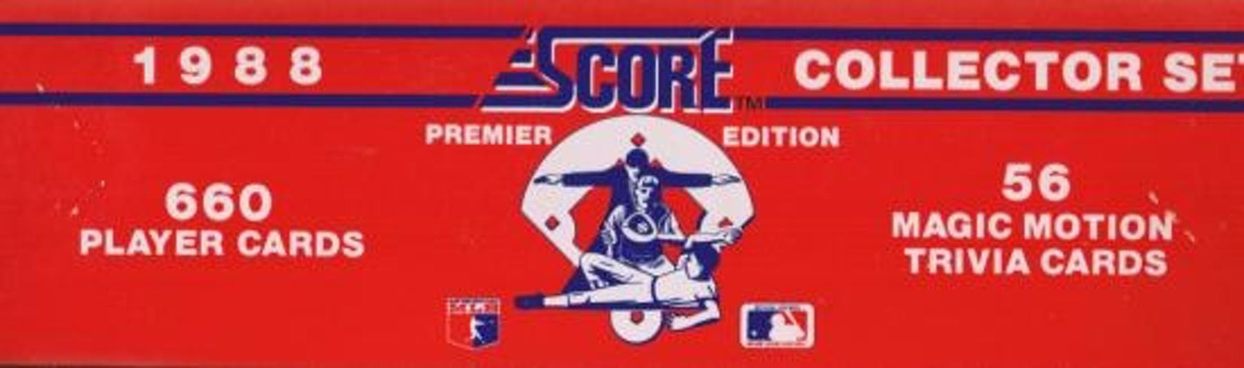 1988 Score Baseball Factory Set Da Card World