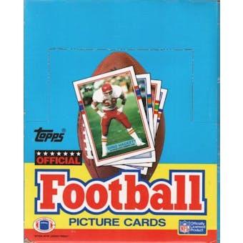 1989 Topps Football Rack Box