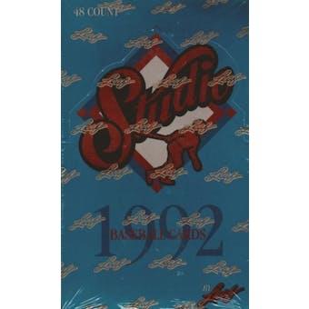 1992 Leaf Studio Baseball Hobby Box