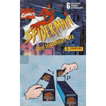 Spiderman Sticker Box (1996 Panini)