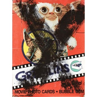 Gremlins Wax Box (1984 Topps)