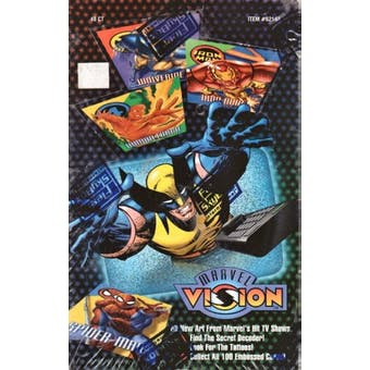 Marvel Vision Box (1996 Fleer Skybox)