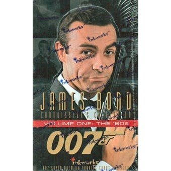 James Bond Connoisseur's Collection Series 1 Hobby Box (1996 Inkworks)