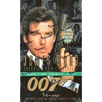 James Bond Connoisseur's Collection Series 3 Hobby Box (1996 Inkworks)