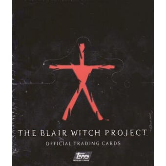 Blair Witch Project Hobby Box (1999 Topps) (Reed Buy)
