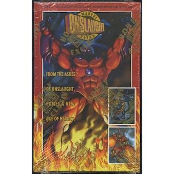 Marvel Onslaught Hobby Box (1996 Fleer Ultra)