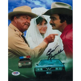 Burt Reynolds Autographed Smokey and the Bandit 8x10 Photo (PSA COA)