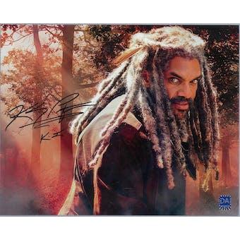 Khary Payton Autographed Walking Dead 8x10 Photo King Ezekiel (DACW COA)
