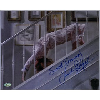 Linda Blair Autographed Exorcist Regan 8x10 Photo Crawl (Schwartz COA)