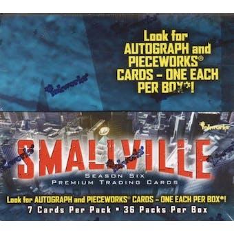 Smallville Season 6 Trading Cards Box (2008 InkWorks)
