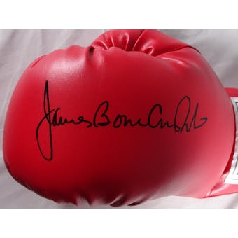 James Bonecrusher Smith Autographed Everlast Boxing Glove JSA #HH11437 (Reed Buy)