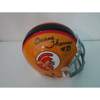 Duane Thomas Honolulu Hawaiians Autographed Football Mini Helmet JSA #HH11353 (Reed Buy)