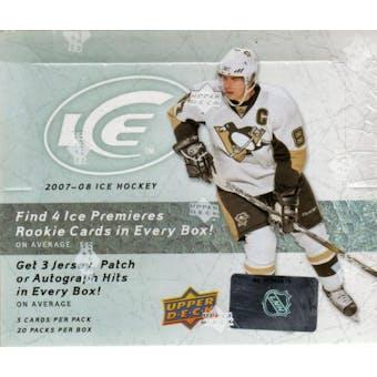 2007/08 Upper Deck Ice Hockey Hobby Box
