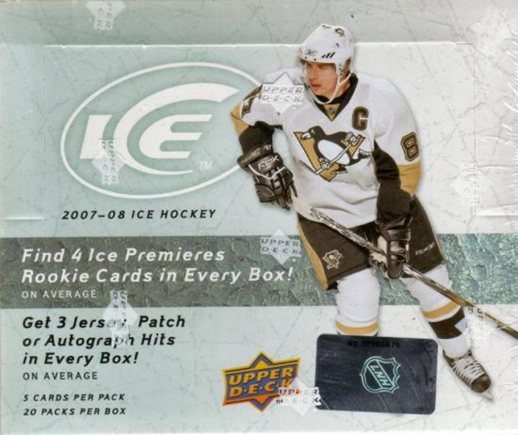 2007 08 Upper Deck Ice Hockey Hobby Box Da Card World