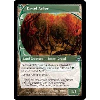 Magic the Gathering Future Sight Single Dryad Arbor FOIL SLIGHT PLAY (SP)